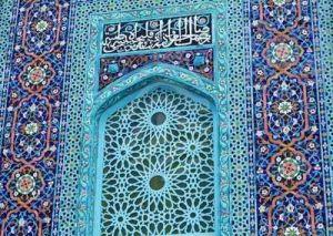 Mosque.detail door